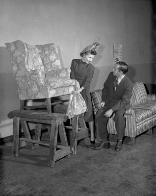 Barnes, Mr. and Mrs. at Winsor Furniture Company