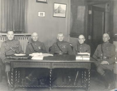 Group of Military Officers