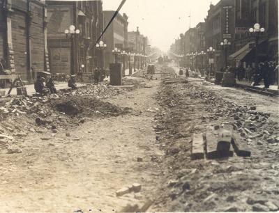 Division Avenue Construction
