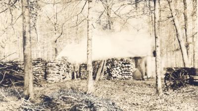 Sugaring, Boiling the sap