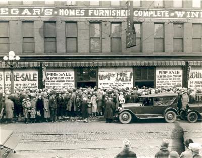 Winegar's Fire Sale