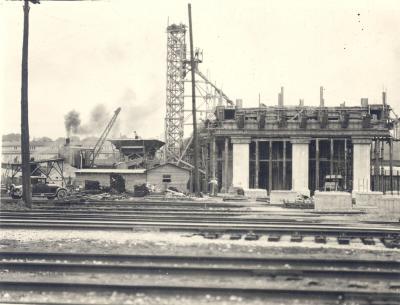 Franklin Street Bridge Construction