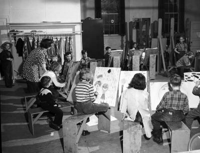 Grand Rapids Art Gallery students