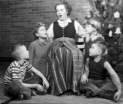 Latvian Mother and Children