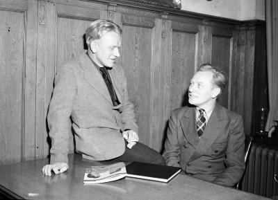Meindert and David DeJong