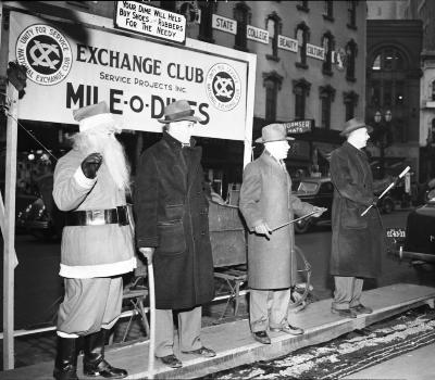 Exchange Club, Mile-O-Dimes
