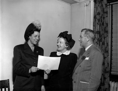 Mrs. Helen J. Claytor, Outstanding Acheivement Award