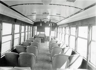 Streetcar, Interior of Streetcar no. 2