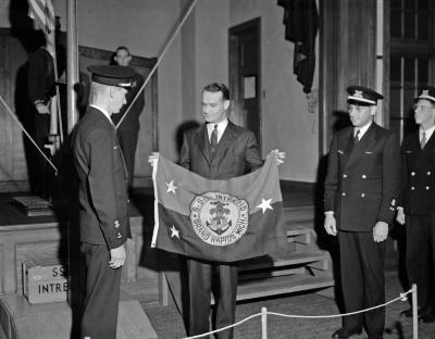 Sea Scouts, flag presentation, Westminster Church