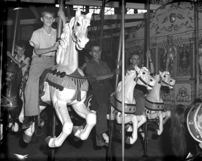 Carousel at Ramona Park