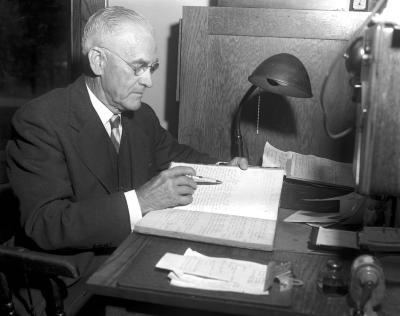 D. W. Richardson, at Plainfield