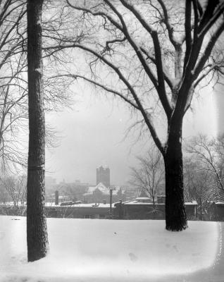 Snow, scenes in Grand Rapids