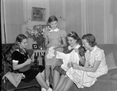 Society, sewing
