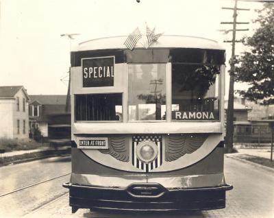 "Streetcar, the ""Charles Lindbergh"""