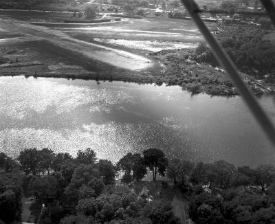 Soil Erosion, Mill Creek, Grand River at air park
