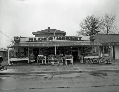 Alger Market, exterior