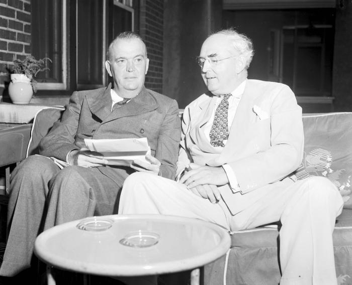Arthur Vandenberg and Governor Kelly