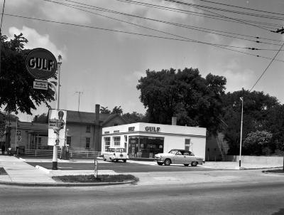 Slocum's Gulf service station