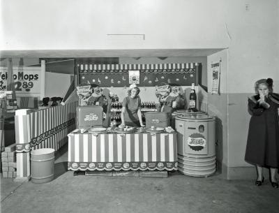 Pepsi-Cola Booth