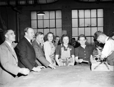 American Seating WWII war effort