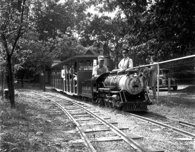 Miniature Train at Ramona Park
