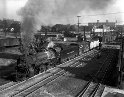 Pere Marquette #1037 locomotive