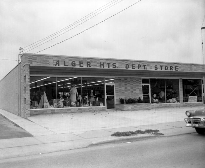 Alger Heights Department Store, exterior