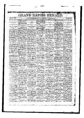 Grand Rapids Herald, Saturday, November 18, 1893