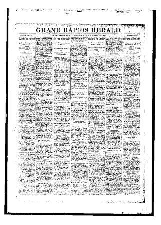 Grand Rapids Herald, Tuesday, November 14, 1893