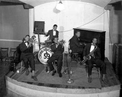 Band at Crispus Attucks Post
