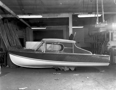 Wagemaker Co. Wolverine boat under construction