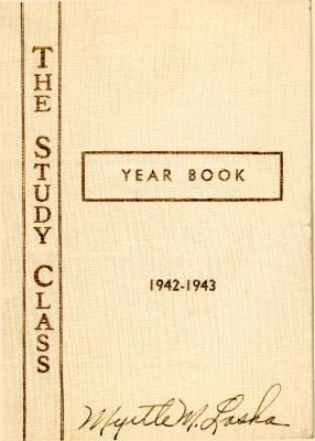 Grand Rapids Study Club Yearbook for 1942-1943