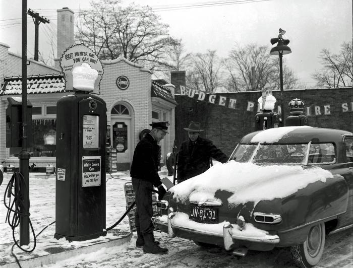 Standard Oil Service Station