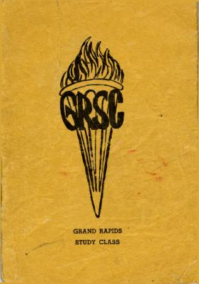 Grand Rapids Study Club Yearbook for 1941-1942