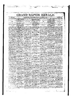 Issue of Grand Rapids Herald for Tuesday, October 24, 1893