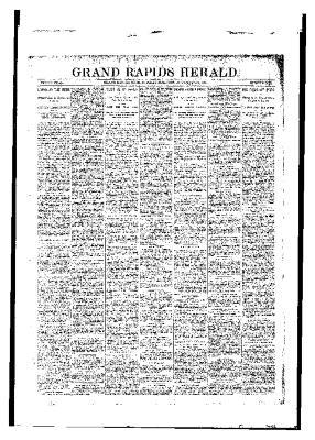 Grand Rapids Herald, Monday, November 13, 1893