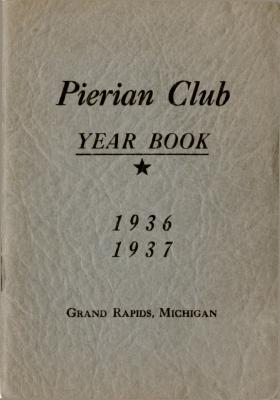The Pierian Club Yearbook for 1936-1937