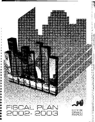 Fiscal Plan excerpts, 2002-2003