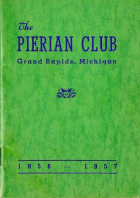 The Pierian Club Yearbook for 1956-1957