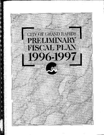 Fiscal Plan excerpts, 1996-1997