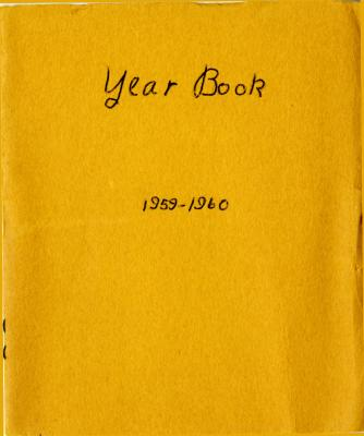 Grand Rapids Study Club Yearbook for 1959-1960