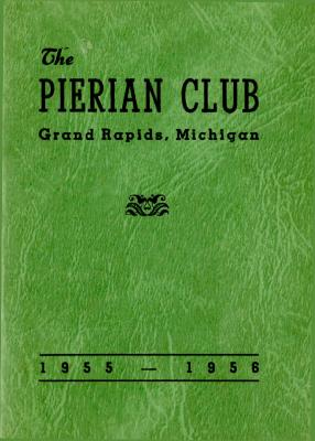 The Pierian Club Yearbook for 1955-1956
