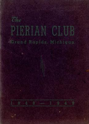 The Pierian Club Yearbook for 1948-1949
