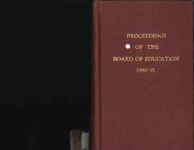 Budget for Grand Rapids Public Schools, 1991-1992