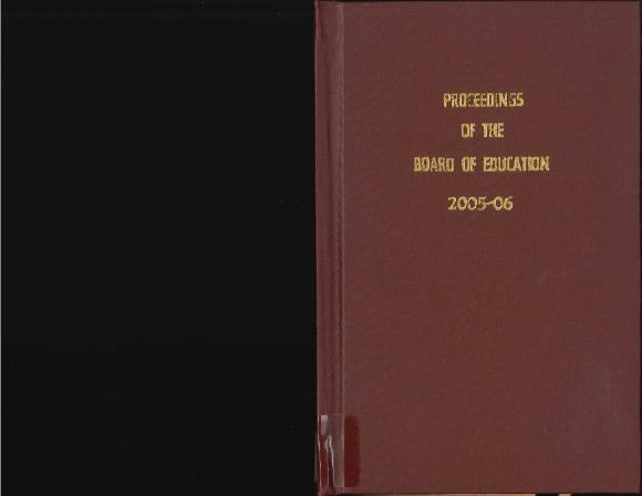 Budget for Grand Rapids Public Schools, 2005-2006