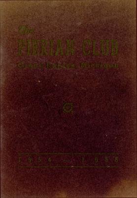 The Pierian Club Yearbook for 1954-1955
