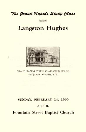 Langston Hughes Lecture