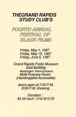 Second Annual Festival of Black Films
