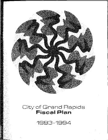 Fiscal Plan excerpts, 1993-1994