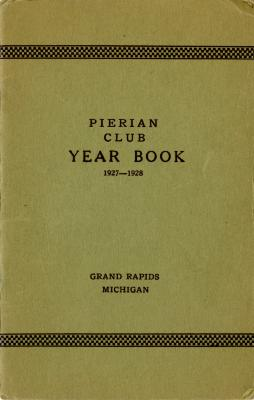 The Pierian Club Yearbook for 1927-1928